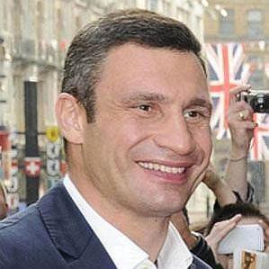 who is Vitali Klitschko dating
