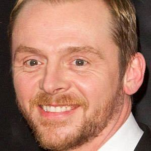 who is Simon Pegg dating